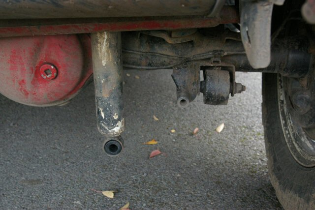 Broken Lower Shock Absorber Mount