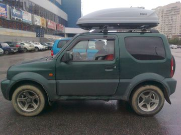 Thule Roof Box >> Cargo space expansion and management - BigJimny Wiki